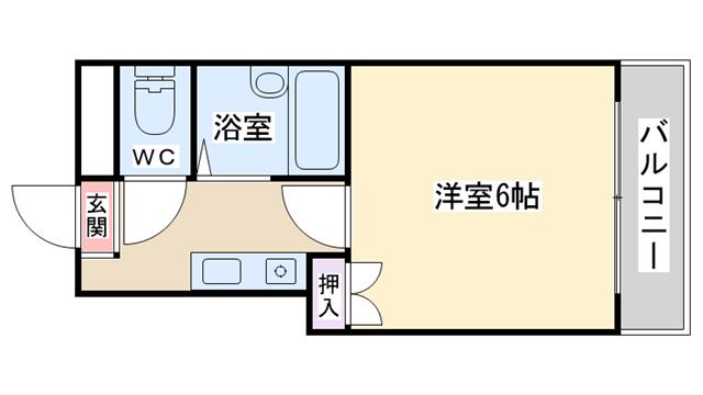 物件番号: 1068136734 カサタナカ  大阪市東淀川区淡路3丁目 2LDK マンション 間取り図
