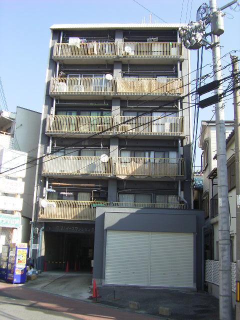 物件番号: 1068136908 イーズマンションⅡ  大阪市東淀川区豊新5丁目 1LDK マンション 外観画像