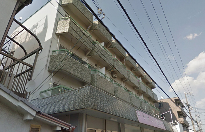 物件番号: 1068124786 岩下マンション  大阪市東淀川区東中島5丁目 2DK マンション 外観画像