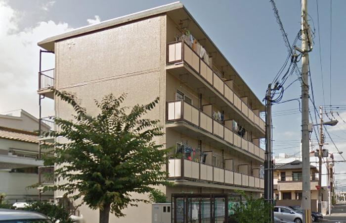 物件番号: 1068128979 サンハイツ  大阪市東淀川区西淡路5丁目 1DK マンション 外観画像