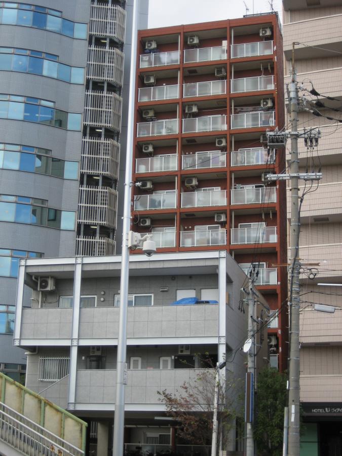 物件番号: 1068133320 ライオンズマンション新大阪  大阪市東淀川区西淡路1丁目 1DK マンション 外観画像