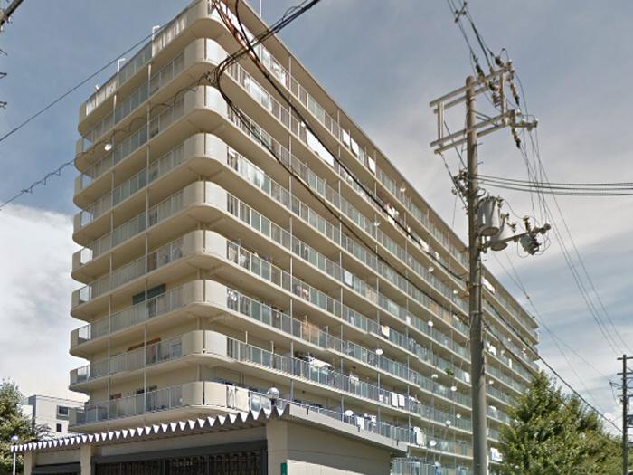 物件番号: 1068134376 新高レックスマンション  大阪市淀川区新高1丁目 2LDK マンション 外観画像