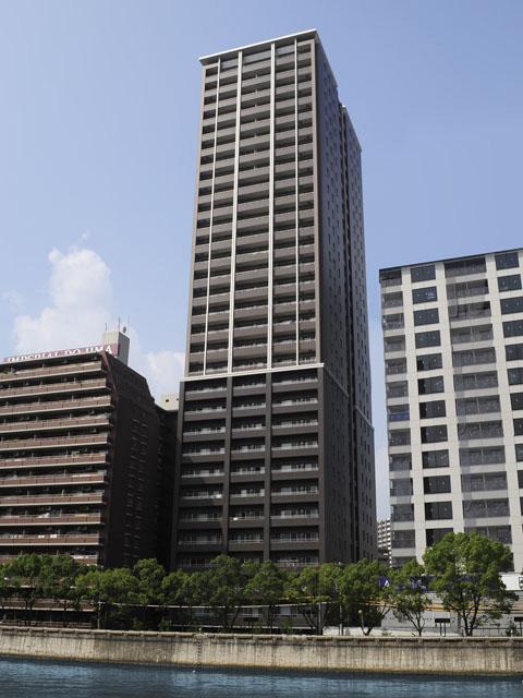 物件番号: 1068134835 リバーサイドタワー中之島  大阪市福島区福島3丁目 2LDK マンション 外観画像