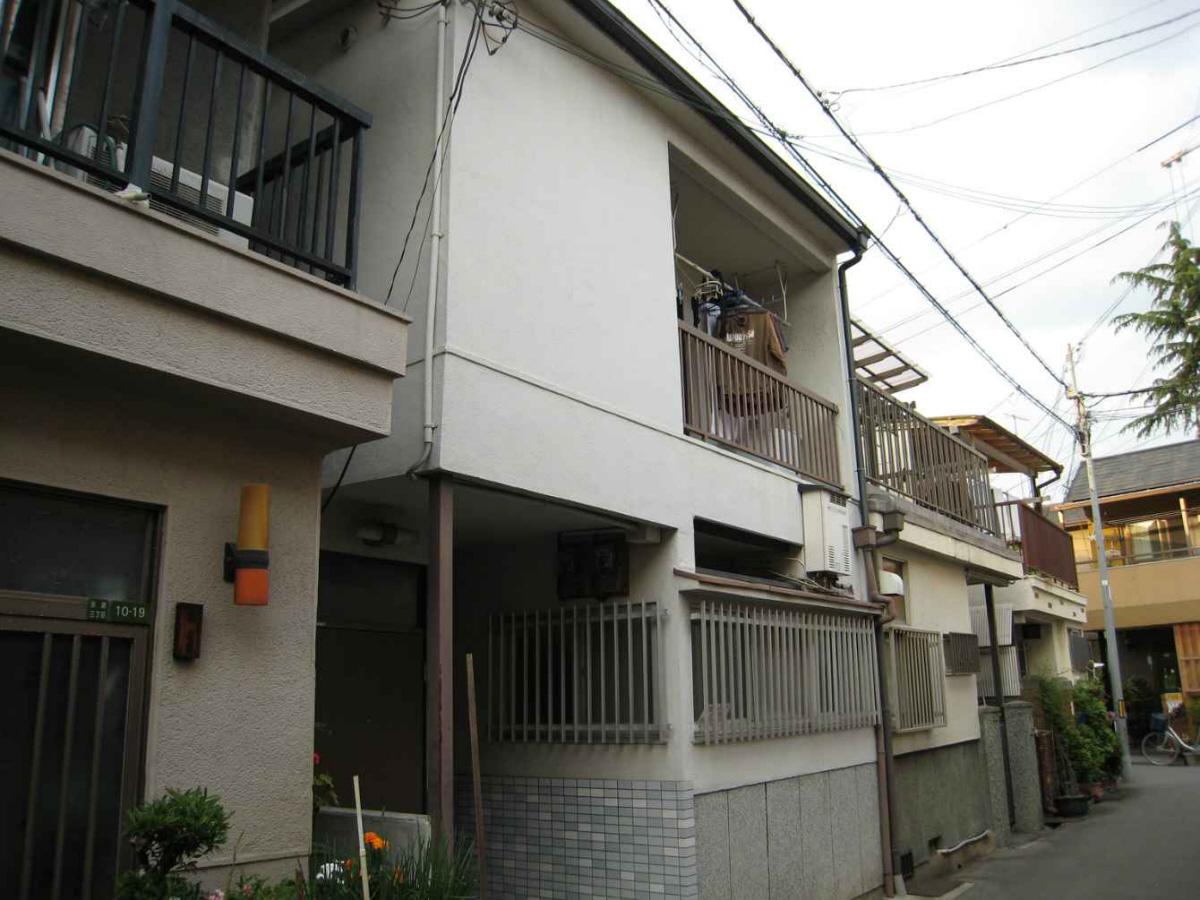 物件番号: 1068135240 ローズハイムⅤ  大阪市東淀川区淡路3丁目 1LDK アパート 外観画像