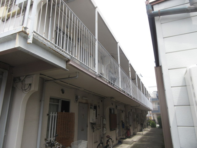 物件番号: 1068135502 東三国コーポ  大阪市淀川区十八条1丁目 2LDK アパート 外観画像