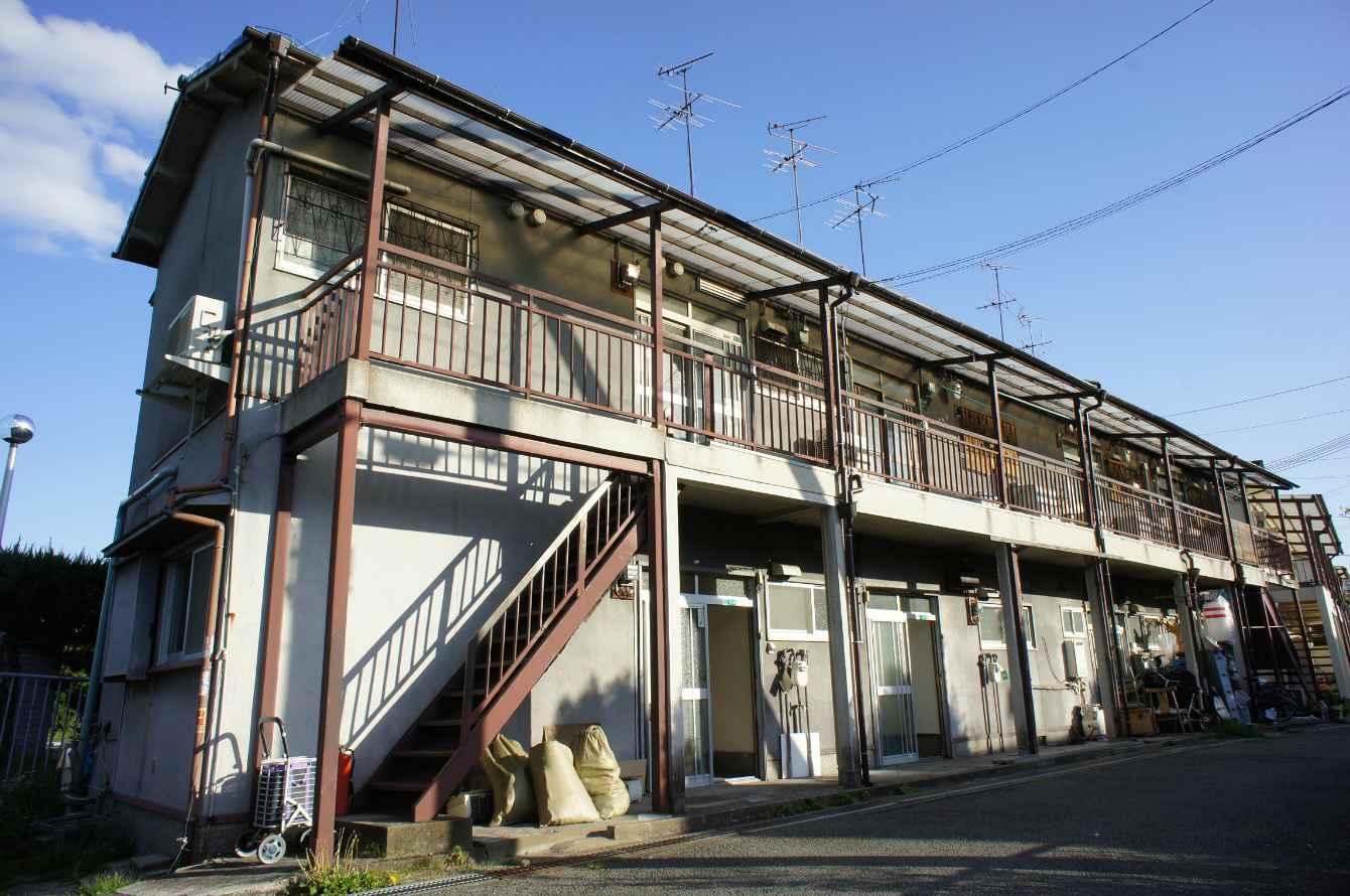 物件番号: 1068135785 谷文化  大阪市淀川区十八条3丁目 2K アパート 外観画像