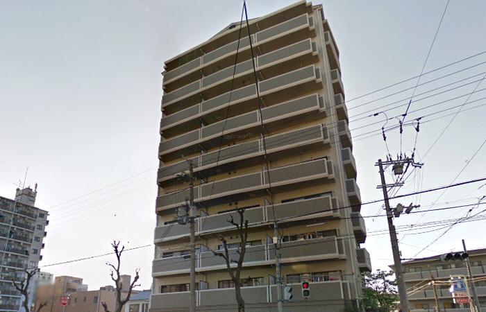 物件番号: 1068136002 ピノヴェルデ  大阪市東淀川区豊新5丁目 3DK マンション 外観画像