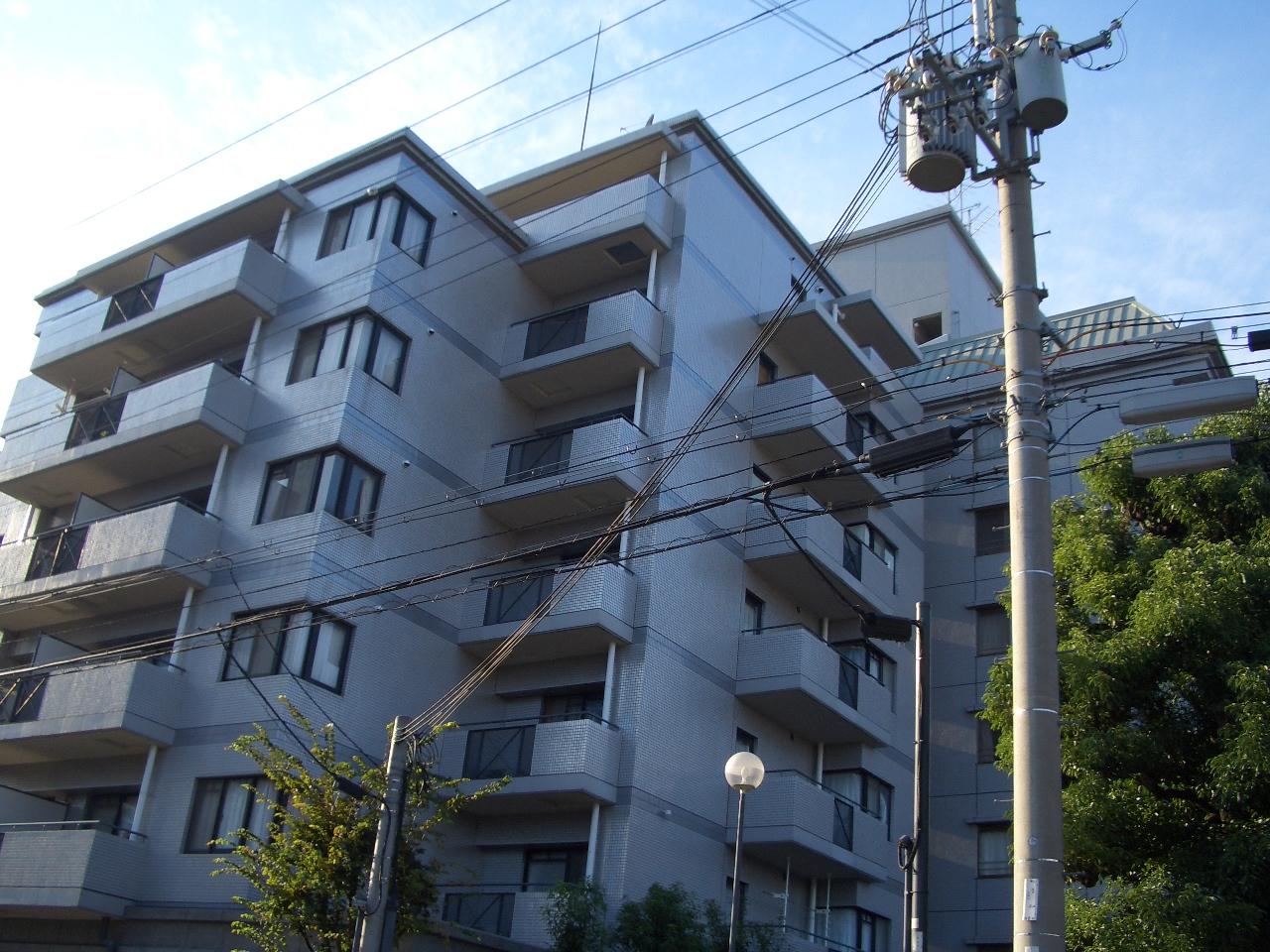 物件番号: 1068105351 オークヒルズ北大阪  大阪市淀川区東三国2丁目 2DK マンション 外観画像
