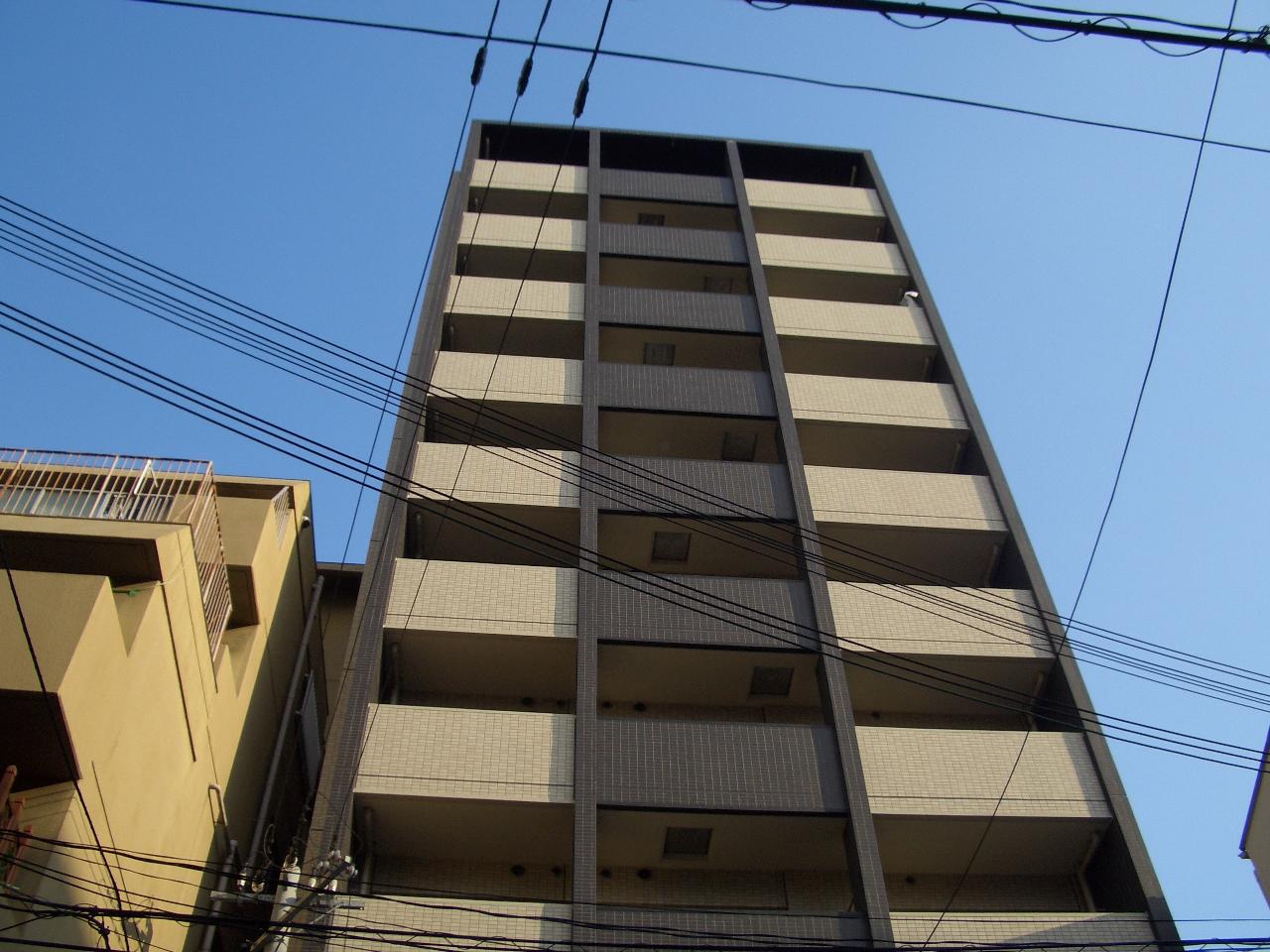 物件番号: 1068115545 エイペックス新大阪  大阪市淀川区西中島6丁目 1DK マンション 外観画像