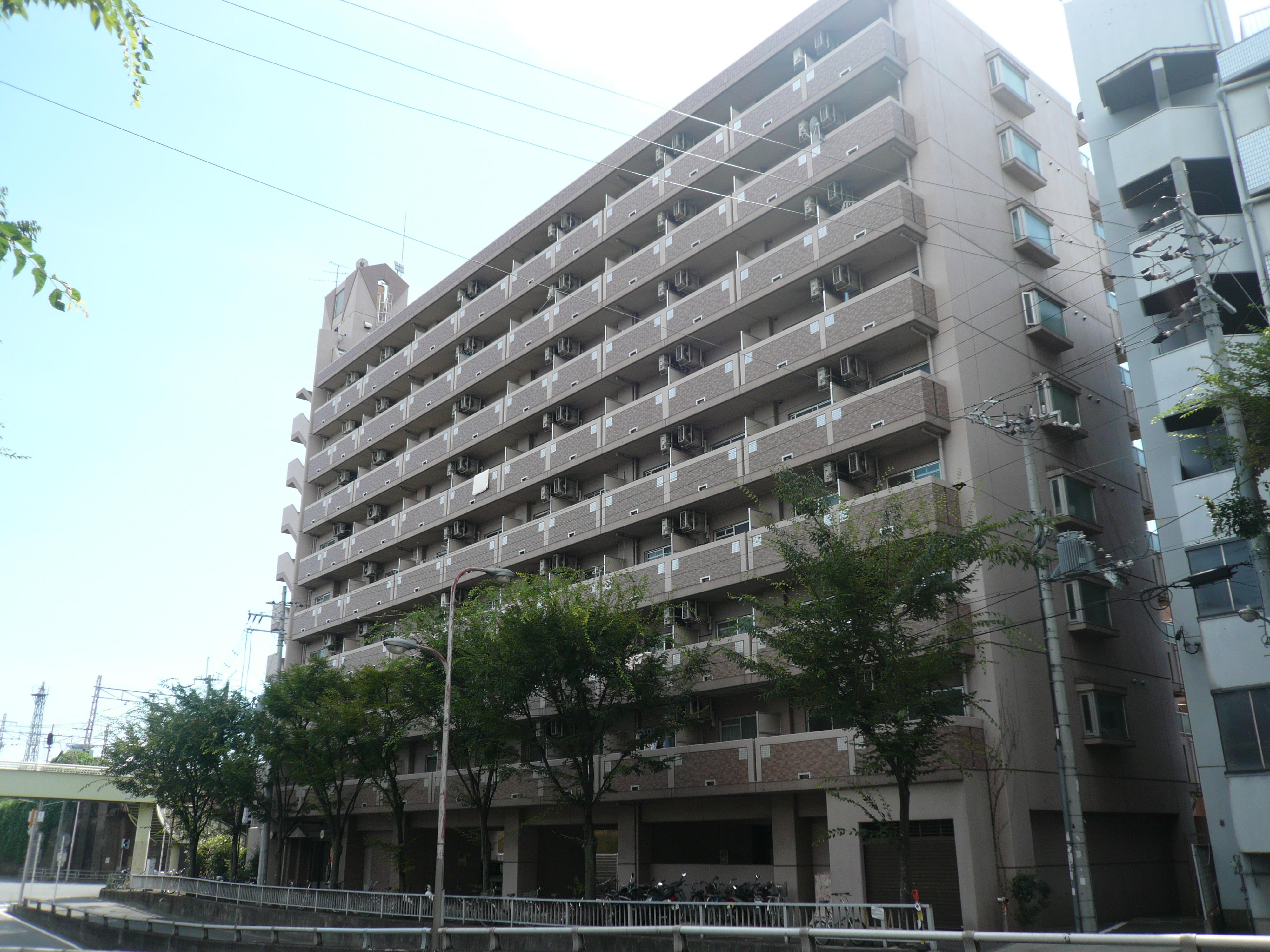 物件番号: 1068125347 サウスフラット  大阪市東淀川区柴島1丁目 1DK マンション 外観画像