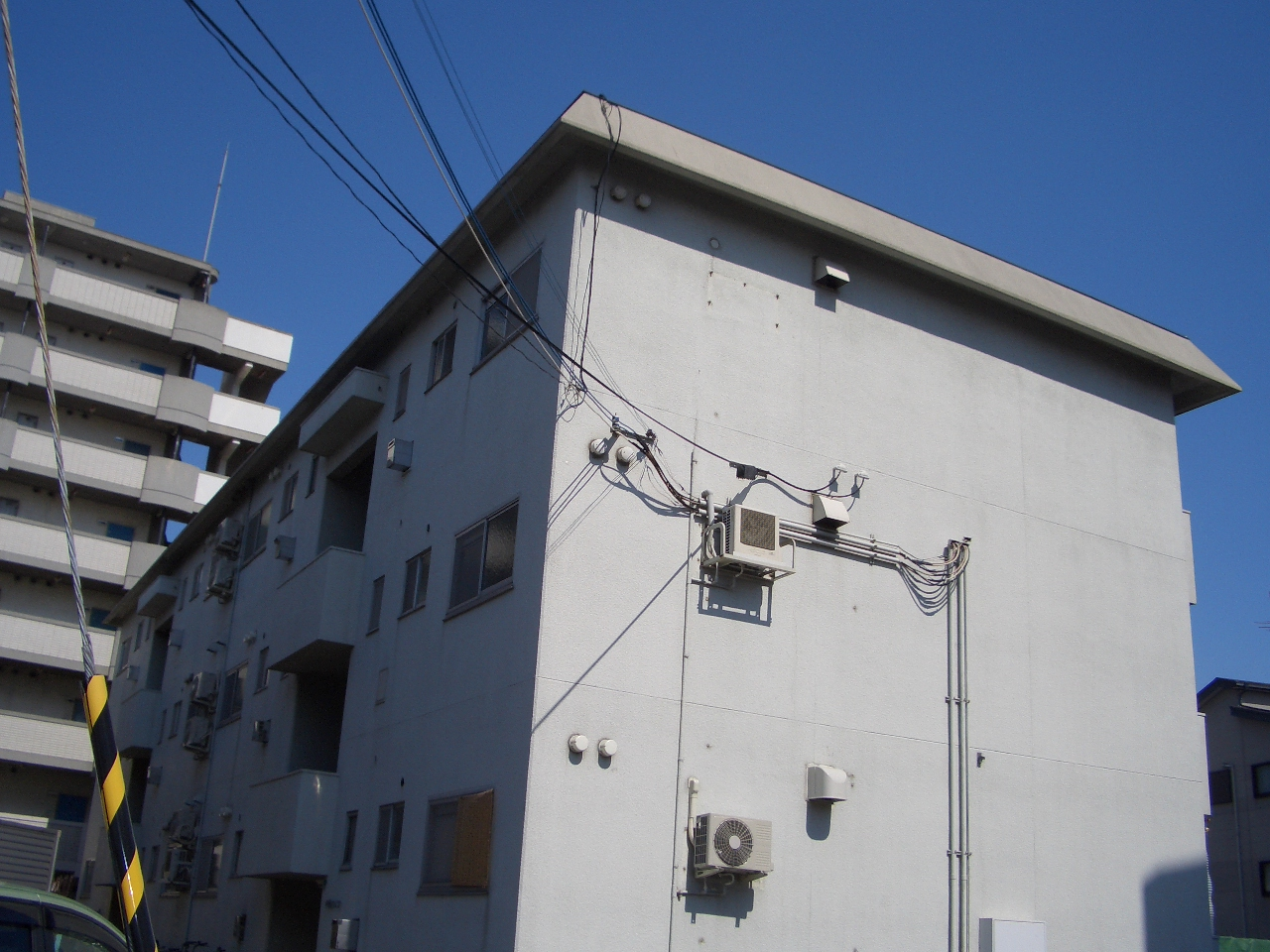 物件番号: 1068129926 第1中尾ハイツ  大阪市淀川区十八条2丁目 3LDK マンション 外観画像