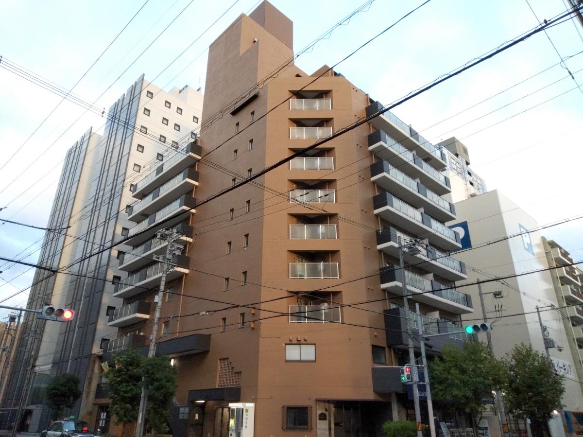 物件番号: 1068114357 コスモハイムエトアール  大阪市淀川区西中島6丁目 3LDK マンション 外観画像