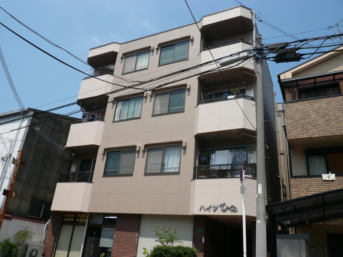 物件番号: 1068101245 ハイツひの  大阪市淀川区木川西3丁目 2DK マンション 外観画像