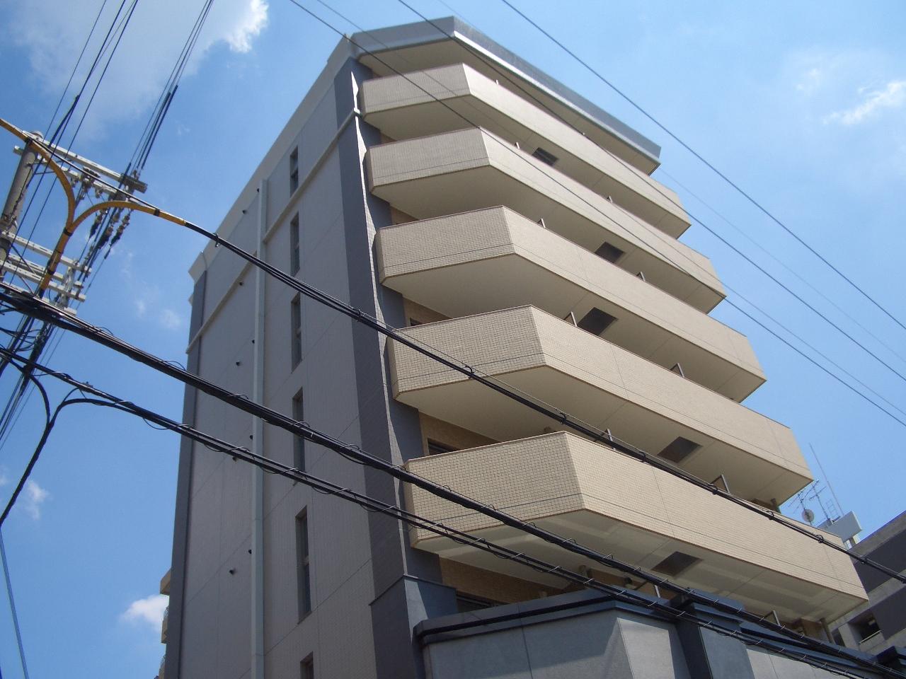 物件番号: 1068114652 ロイヤルレジデンス新大阪  大阪市淀川区西中島4丁目 1R マンション 外観画像