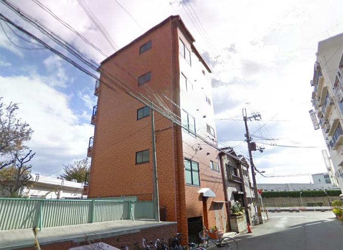 物件番号: 1068101822 サカエマンション  大阪市東淀川区東中島2丁目 2LDK マンション 外観画像